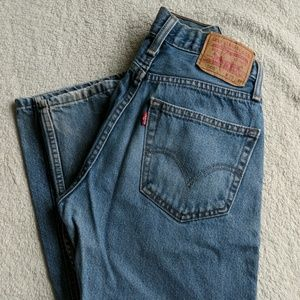 Levi 505 Straight Fit Jeans